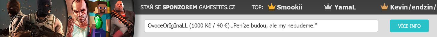 sponzor gamesites.cz
